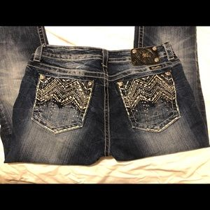 MISS ME 32 JE8000BR Boot Jeans